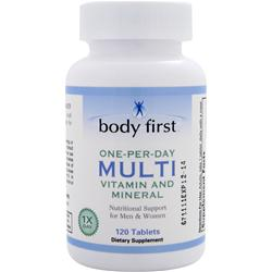 Body First One-Per-Day Multi - Vitamin and Mineral 120 tabs