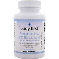 Body First Probiotic 20 Billion 60 caps