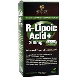 Genceutic Naturals R-Lipoic Acid+ (300mg) 60 vcaps
