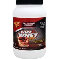 Champion Nutrition Pure Whey Protein Stack Chocolate 2.2 lbs