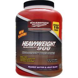 Champion Nutrition Heavyweight Gainer 900 Peanut Butter & Jelly 7 lbs