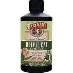 Barlean's Olive Leaf Complex Full Spectrum Liquid Natural Flavor 16 fl.oz