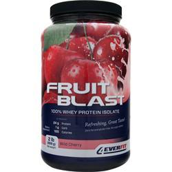4 Ever Fit Fruit Blast the Isolate Wild Cherry 2 lbs