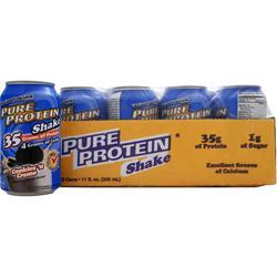 Worldwide Sports Ultra Pure Protein Shake RTD (11 fl.oz.) Cookies 'n Creme 12 cans