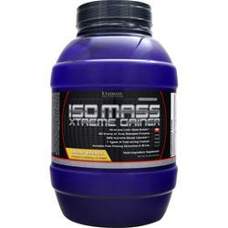 Ultimate Nutrition Iso Mass Xtreme Gainer Creamy Banana EXPIRES 2/20 10 lbs