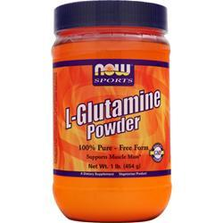 Now L-Glutamine Powder 454 grams