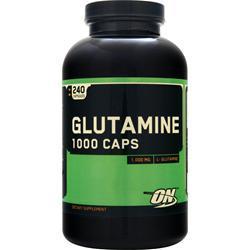 Optimum Nutrition Glutamine (1000mg) 240 caps