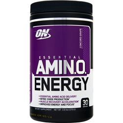 Optimum Nutrition Essential AMIN.O. Energy Concord Grape .6 lbs