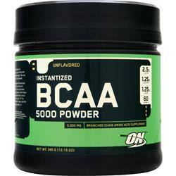 Optimum Nutrition Instantized BCAA 5000 Powder Unflavored 345 grams