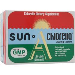 Sun Chlorella Sun Chlorella (200mg) A-5 1500 tabs