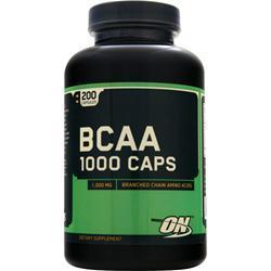 Optimum Nutrition BCAA 1000  EXPIRES 1/20 200 caps