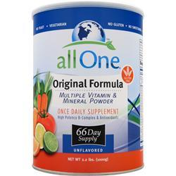All One Multiple Vitamins & Minerals - Original 2.2 lbs