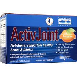 Trace Minerals Research ActivJoint Powder Tangerine 30 pckts