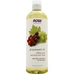 Now Grapeseed Oil (100% Pure) 16 fl.oz