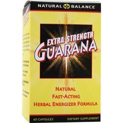 Natural Balance Extra Strength Guarana 60 caps