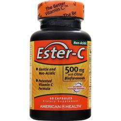 American Health Ester-C with Citrus Bioflavonoids (500mg) 60 caps