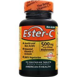 American Health Ester-C with Citrus Bioflavonoids Vegetarian (500mg) 90 tabs