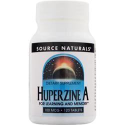 Source Naturals Huperzine A (100mcg) 120 tabs
