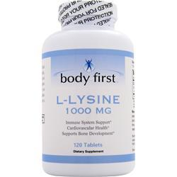 Body First L-Lysine (1000mg) 120 tabs