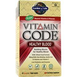 Garden Of Life Vitamin Code Healthy Blood On Sale At