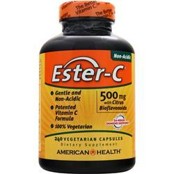American Health Ester-C with Citrus Bioflavonoids Vegetarian (500mg) 240 vcaps