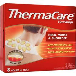 Thermacare HeatWraps - Neck, Wrist & Shoulder 3 wraps