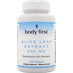 Body First Olive Leaf Extract (500mg) 120 vcaps
