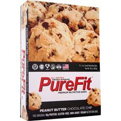 Purefit PureFit Nutrition Bar Peanut Butter Choc. Chip 15 bars
