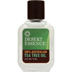 Desert Essence 100% Australian Tea Tree Oil .5 fl.oz