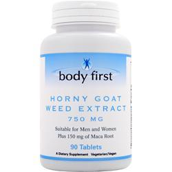 Body First Horny Goat Weed Extract (750mg) 90 tabs