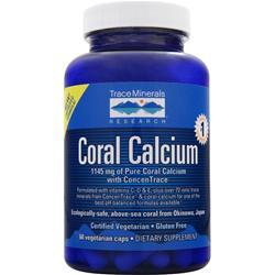 Trace Minerals Research Coral Calcium 60 vcaps