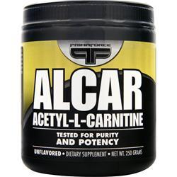 Primaforce Alcar - Acetyl L-Carnitine Unflavored 250 grams