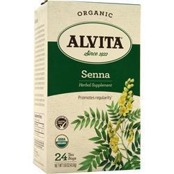 Alvita Tea Bags - Organic Senna 24 pckts