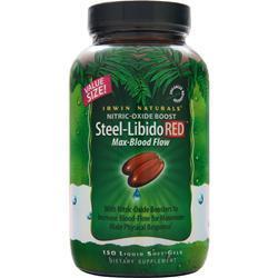 Irwin Naturals Steel-Libido Red 150 sgels