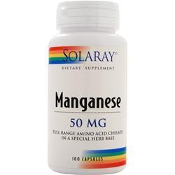 Solaray Manganese (50mg) 100 caps