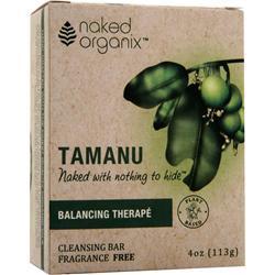 Naked Organix Cleansing Bar Balancing Therape 4 oz