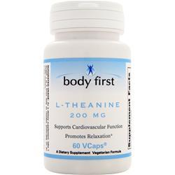 Body First L-Theanine (200mg) 60 vcaps