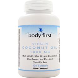 Body First Coconut Oil (1,000mg) 120 sgels
