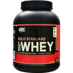 Optimum Nutrition 100% Whey Protein - Gold Standard Delicious Strawberry 5 lbs