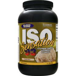 Ultimate Nutrition Iso Sensation 93 Vanilla Bean 2 lbs