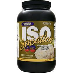 Ultimate Nutrition Iso Sensation 93 Banana Ice Cream 2 lbs