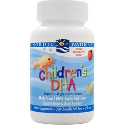 Nordic Naturals Children's DHA (Chewable) Strawberry 360 sgels
