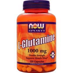Now L-Glutamine (1000mg) 240 caps