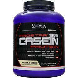 Ultimate Nutrition ProStar - 100% Casein Protein Vanilla Creme 5 lbs