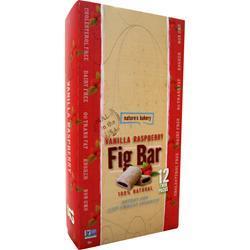 Nature's Bakery Fig Bar Vanilla Razz 12 TwinPacks 24 bars