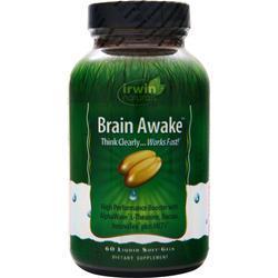 Irwin Naturals Brain Awake 60 sgels