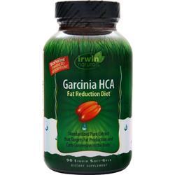 Irwin Naturals Garcinia HCA - Fat Reduction Diet 90 sgels