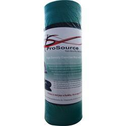 Pro Source Yoga Mat with Carrying Straps Black 1 unit