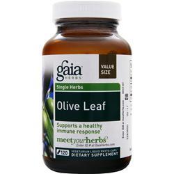 Gaia Herbs Single Herbs - Olive Leaf 120 vcaps