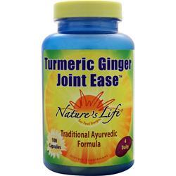 Nature's Life Turmeric Ginger Joint Ease 100 caps